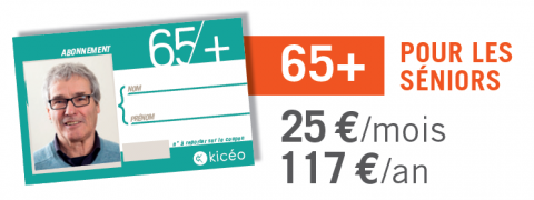 Coupon annuel 65+