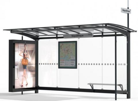 Le mobilier urbain de type panneaux d'information et abris-voyageurs va faire peau neuve sur la Ville