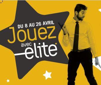 Abonnés Elite, jouez du 8 au 26 avril !