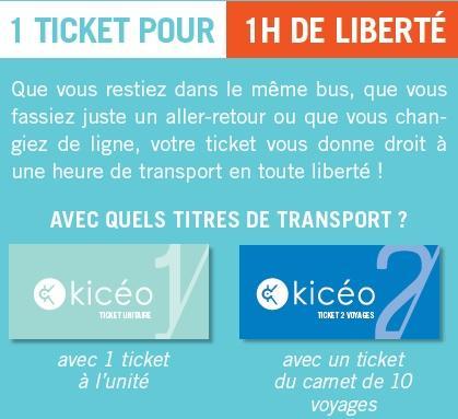 1 ticket = 1 heure de liberté